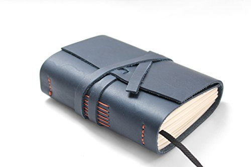 A6 Leder Tagebuch Reisetagebuch, Notizbuch Leder, Tagebuch, Notizbuch, Business-Kladde, Liederbuch, Rezeptbuch, Poesiealbum, Ideensammlung,Skizzenbuch,Gästebuch