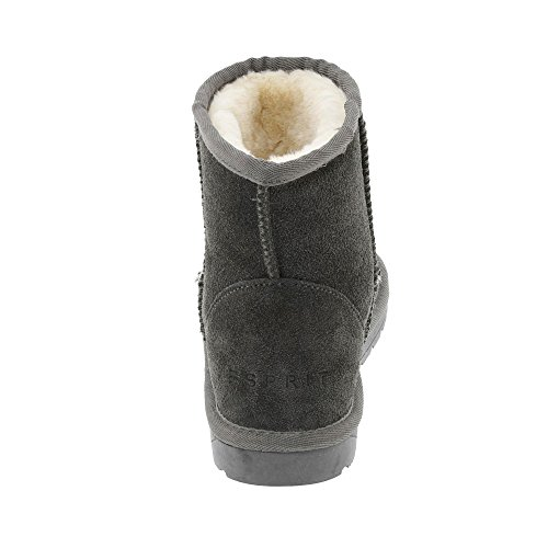ESPRIT 107ek1w017 020, Stivali donna scuro-grigio