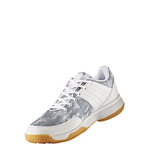 adidas Damen Ligra 5 W Volleyballschuhe Grau (Ftwr White/silver Met/silver Met)