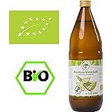 Bio Aloevera Saft, naturtrüber Direktsaft, handfiletiert ( 1 x 1000 ml / 1 x 1 l )