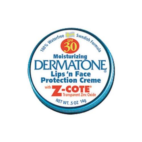 Dermatone - Protector de cara y labios (factor de protección...