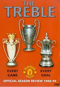 Manchester United: The Treble - Official Season Review 1998/99 [DVD]