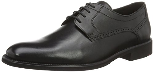 Lloyd Mens Pizzaro Derby Black (nero)
