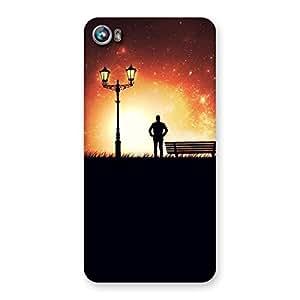 Impressive Evening Multicolor Back Case Cover for Micromax Canvas Fire 4 A107