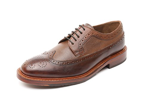 Gordon & Bros Herrenschuhe Paul 203-013 Herren Businessschuhe, Schnürhalbschuhe, Anzugschuhe, Derby Schuhe, Blake, (alpine/milano brown), EU Größe 45