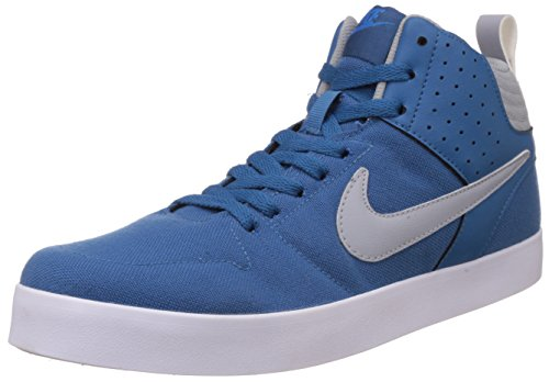 28563812fd4 Nike 669594-404 Men S Liteforce Iii Mid Blue And Grey Canvas ...