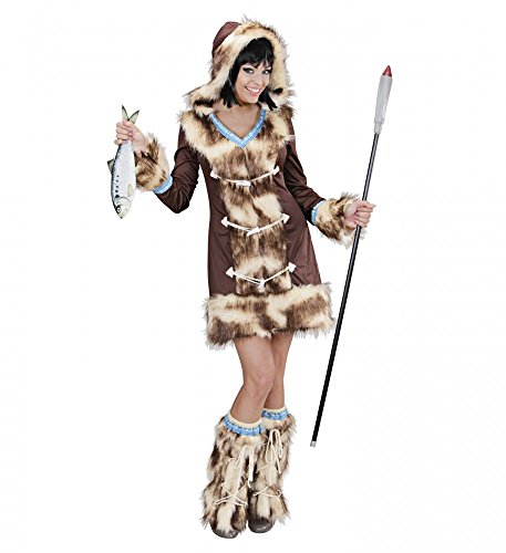 Fell-Kostüm ESKIMO GIRL Aikaa, -
