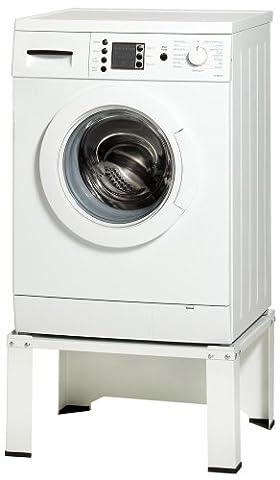 Untergestell 010 für Waschmaschine oder Trockner Sockel Podest Erhöhung. Sehr stabil mit durchgehender