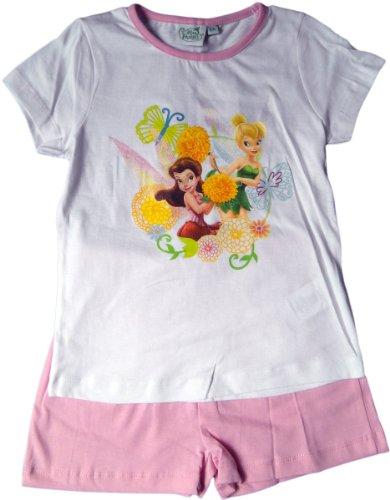 Disney Fairies Schlafanzug / Shirt und Shorty - Tinkerbell und Rosetta im Feenland - ()