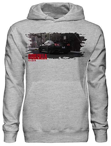 Benefitclothing Nissan Godzilla GTR Unisex Hoodie JDM Legends Turbo Petrol Monsters Hoodie