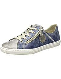 56826, Womens Low-Top Sneakers Rieker