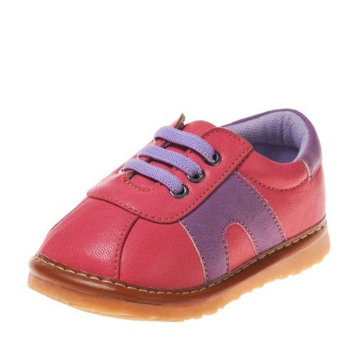 Little Blue Lamb - Chaussures à sifflet | Baskets rose foncé et bleu