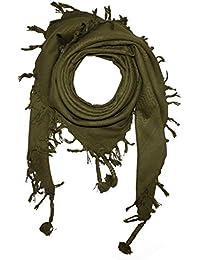 c57380fbe30 Freak Scene® Foulard palestinien keffieh en coton - couleur unie - 100 x 100