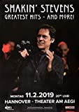 TheConcertPoster Shakin` Stevens - Greatest Hits, Hannover