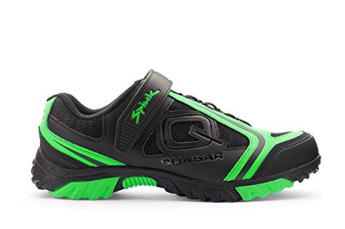 Spiuk Quasar Mtb Paire de chaussures de sport pour adulte Unisexe Noir/vert