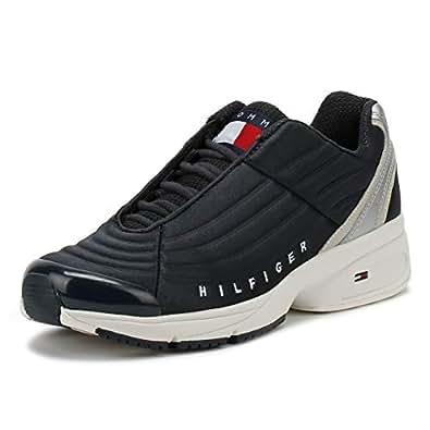 size 40 1185f d91cc Tommy Hilfiger Denim Herren Heritage Sneaker: Amazon.de ...
