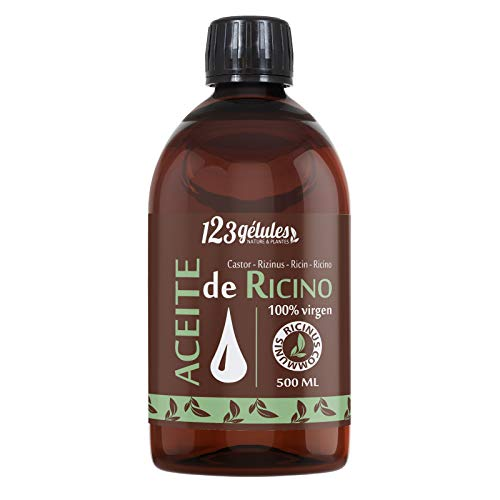 Aceite de Ricino 500 ml - 100% virgen - 1a presiónen frío - Ricinus Communis