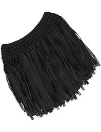 Gazechimp Jupe Mini Tassel Motif Frange Dessin Jupon Pour Fille Vêtement  Sexy Maillots De Bain Gymnastique 08fc3162e6a