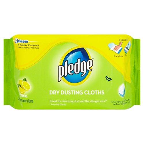 Scheda dettagliata Pledge - Panni per spolverare, aroma limone, 20 pezzi per confezione