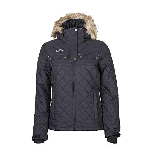 33fa3db003 Five Season Women s Alyssa Artic Zone Ski Snow Jacket Black UK 12