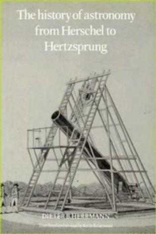 The History of Astronomy from Herschel to Hertzsprung