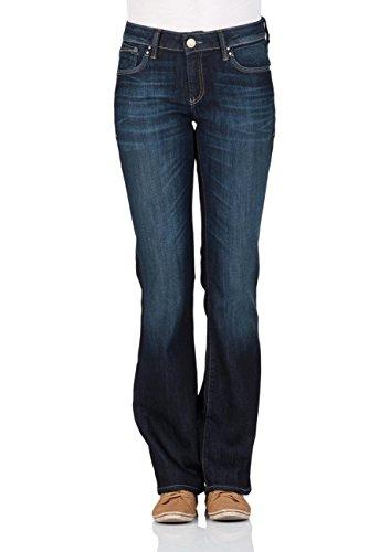 Mavi Damen Bootcut Jeans Bella Mid-Rise, Blau (Rinse Miami Str 11114), W26/L34 (Herstellergröße: 26/34) (Jeans Mid-rise Mavi Jeans)
