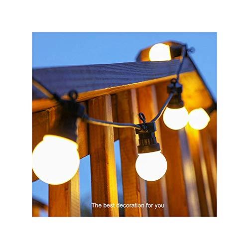 rdichte Lichterkette mit Birne 10M 20 Kopf (Indoor/Outdoor Party Dekoration mit warmem Licht),White ()