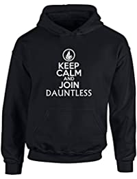 Keep Calm and Join Dauntless, Kids Printed Hoodie