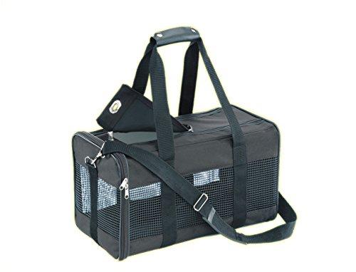 Nobby 76214 Transporttasche für kleine Hunde oder Katzen Nylon 53 x 30 x 30 cm