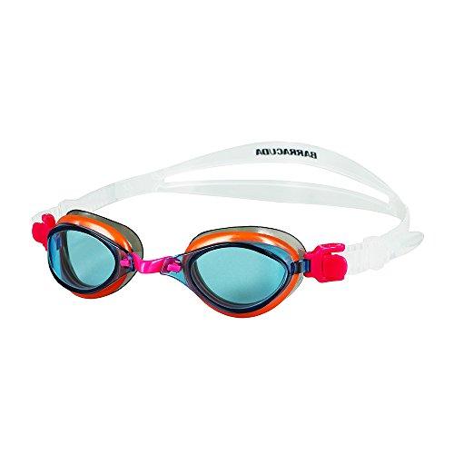 Barracuda Fenix JR- Schwimmbrille für Kinder 7-15, mit 100% UV-Schutz, Anti-Beschlag-Beschichtung, Wasserdicht, aus hautverträglichem Kunststoff Inklusive KOSTENLOSEM Etui #73855 (Pink) - Jr Goggles Speedo