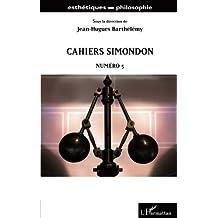 Cahiers Simondon N° 3 - Jean-Hugues Barthélémy