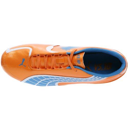 Puma v5.10 i FG II, Chaussures football homme Orange fluo