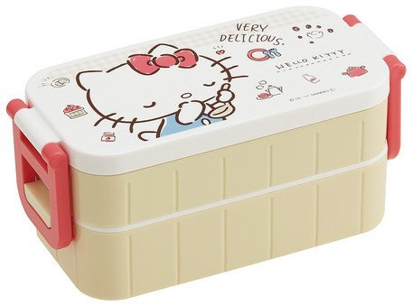 Skater Sanrio/Hello Kitty/Lunch-Boxen/Zweistufige Tight/Lunchbox 600ml YZW3 -