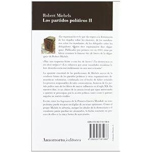 Los Partidos Políticos - Volumen II (2ª Edición) (Sociología)