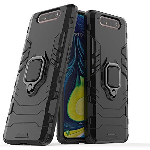 Designerz Hub® Dual Layer Armor Defender Full Body Protective Back Case Cover Designed for Samsung Galaxy A80