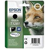 Epson original - Epson Stylus SX 435 W (T1281 / C13T12814022) - Tintenpatrone schwarz - 170 Seiten - 5,9ml