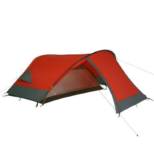 10T Camping-Zelt Silicone Biker 2 Kuppelzelt mit Schlafkabine für 2 Person Outdoor Trekkingzelt mit Vorraum, UV beständiger Silikon Beschichtung, Aluminium Gestänge, wasserdicht mit 5000mm Wassersäule