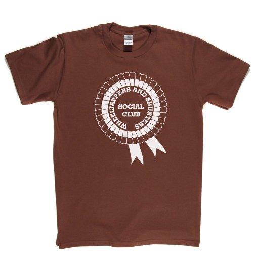 Wheeltappers And Shunters Social Club TV Series 1970s 70s Retro Tee T-shirt  Braun