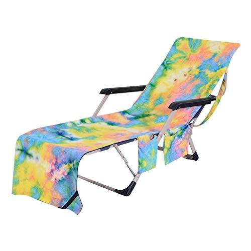 VICKY-HOHO-Haus & Garten-Stühle Decke Stuhl Strandtuch Strandkorb Abdeckung Chaise Lounge Handtuch Abdeckung Für Pool Sonnenliege Hotel Urlaub 82,5 '' X 29,5 '' (D) -