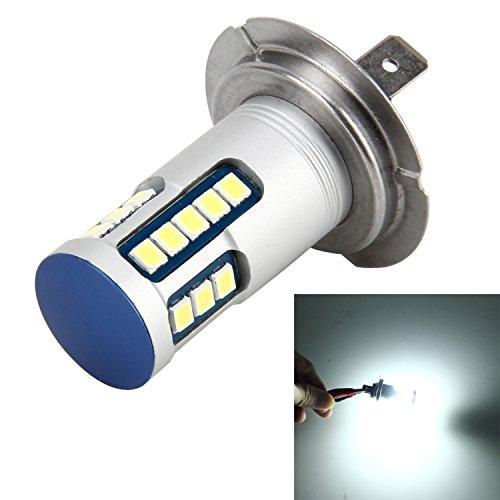 Preisvergleich Produktbild Mecaweb 2x Lampen H7 5W 600 LM 6000K 24 LED SMD-2835 DC 12V Weißes Licht