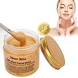 Máscara facial de oro de 24 quilates para eliminar puntos negros, mascarilla de limpieza profunda, antihumedad, elimina las arrugas, para todos los tipos de piel.