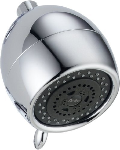 Delta Faucet RP40594 Universal Showering Components, Touch-Clean(R) 3-Setting Showerhead, Chrome by DELTA FAUCET