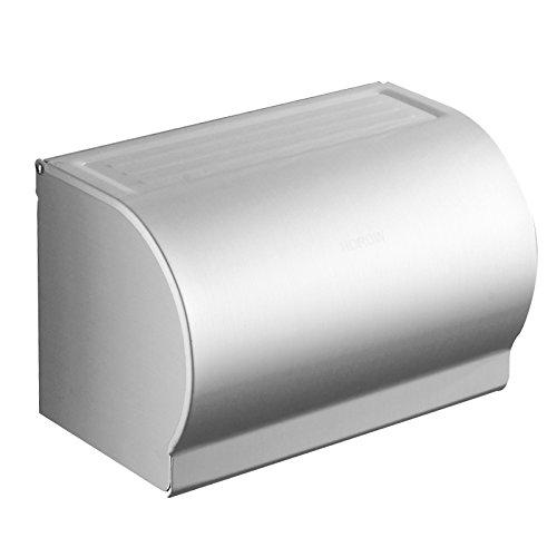 Hardwareh Bad Raum Aluminium WC-Papier, an der Wand hängenden Papierschachtel Buchbeutel, verlängerte Wc Cartonsmodern Einfache und dauerhafte Dekoration klassischen Qualitätssicherung