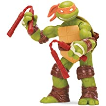 Tortugas Ninja - Figuras articuladas: Michelangelo (Giochi Preziosi 90600)