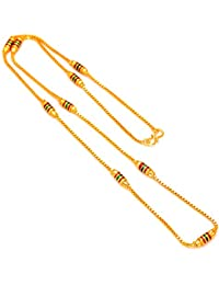 Jewar Mandi Gold-Plated Chain Necklace For Unisex