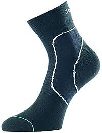 1000Mile Chaussettes de sport chaussettes chaussettes de soutien pour le soutien et Réhabilitation la cheville–Blanc ou Noir S/Xl–Idéal pour les tous les sports–pour Homme et Femme