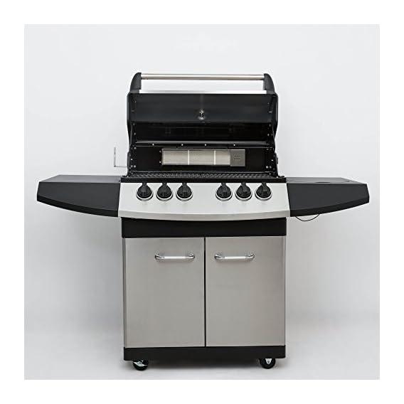Mayer Barbecue Zunda Gasgrill Mgg 341 Pro Mit Backburner