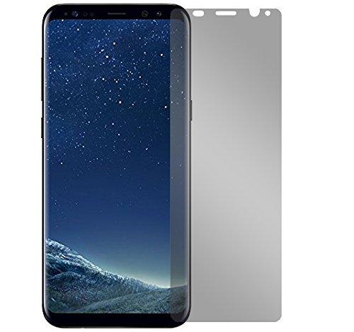 Slabo Blickschutzfolie für Samsung Galaxy S8+ (SM-G955) Sichtschutz Displayschutzfolie View Protection Privacy Schwarz
