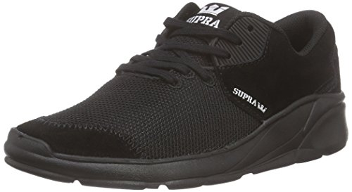 Supra Noiz Unisex-Erwachsene Low-Top Schwarz (BLACK / BLACK - BLACK BBB)