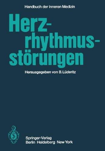 Herzrhythmusstörungen (Handbuch der inneren Medizin, Band 9)